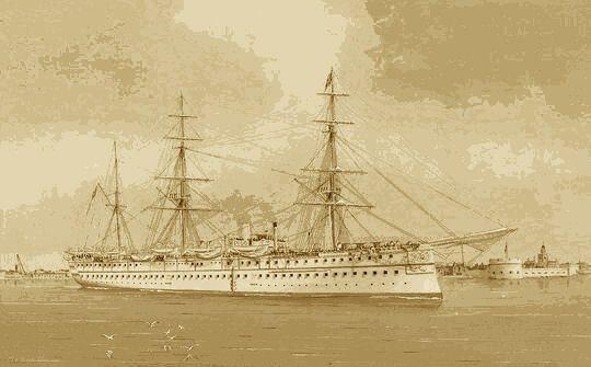 Troop Ship Serapis