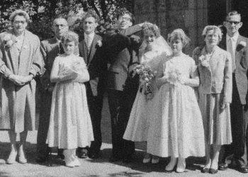john mosley and patricia hill wedding 18 may 1959